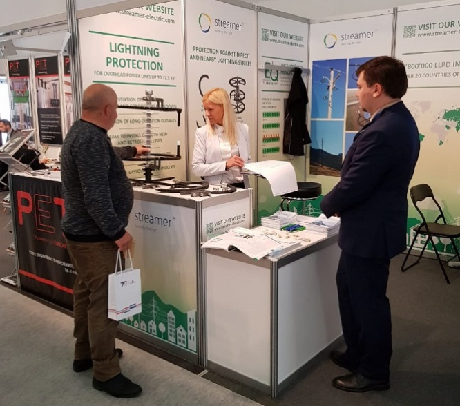 Streamer summed up participation in the Polish exhibition ENERGETAB 2019